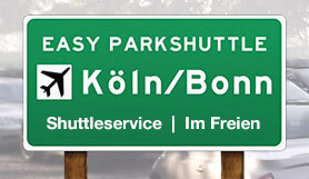 Easy Parkshuttle - Park & Ride - Uncovered - Köln/Bonn