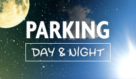 Parking Day & Night - Non couvert + navette - Francfort Hahn