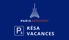 P3 Résa Vacances - Official Onsite - Outdoor - Charles de Gaulle