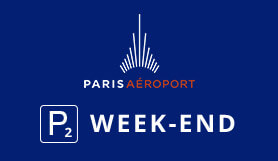 P2 Week-End - Official Onsite Car Park - Indoor - Paris Orly
