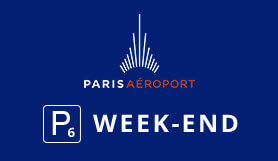 P6 Week-End - Official Onsite Car Park - Outdoor - Paris Orly