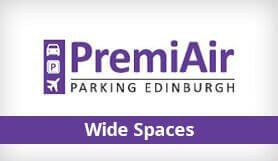 Edinburgh - PremiAir Parking - Park & Ride - Wider Spaces