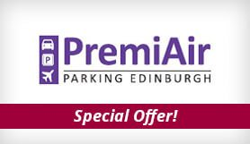 Edinburgh - PremiAir Parking - Park & Ride - Special Offer