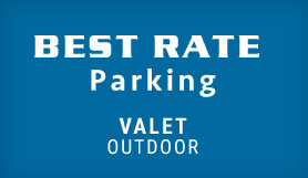 Best Rate Parking - Valet - Outdoor - Orlando