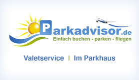 Parkadvisor - Meet & Greet - Uncovered - Frankfurt Main