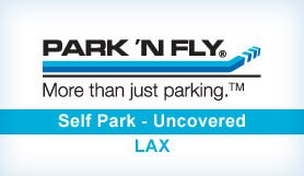 Park 'N Fly @ Park One - Self Park - Uncovered - LAX