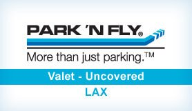 Park 'N Fly @ Park One - Valet - Uncovered - LAX