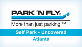 Park 'N Fly Plus - Self Park - Uncovered - Domestic Terminal - ATL