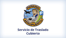Parking del aeropuerto - Park and Ride - Madrid - Covered