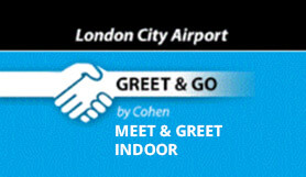 London City - Greet & Go - Indoor - Meet and Greet