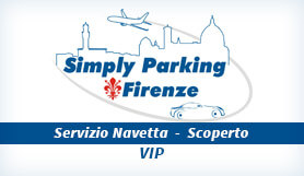 Simply Parking - Park & Ride - Uncovered - Firenze - VIP
