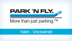 Park 'N Fly - Valet - Uncovered - San Francisco