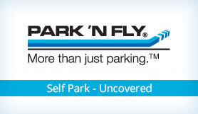 Park 'N Fly - Self Park - Uncovered - George Bush