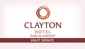Dublin - Clayton Hotel Premium Valet Park and Ride