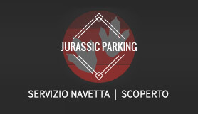 Jurassic Parking - Park & Ride - Uncovered - Rome