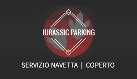 Jurassic Parking - Park & Ride - Covered - Rome
