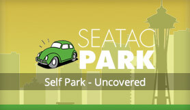 SeaTacPark  - Self Park - Uncovered - Seattle