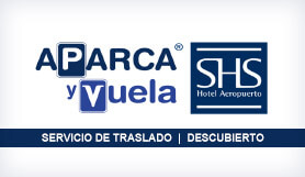 SHS Hotel - Park & Ride - Uncovered - Madrid