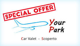 Your Parking - Meet & Greet - Uncovered - Fiumicino