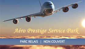 Parking Aero Service Prestige Park - P&R - Uncovered - Lyon Airport
