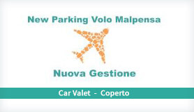 New Parking Volo Malpensa - Meet & Greet - Covered - Milan Malpensa