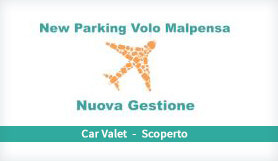 New Parking Volo Malpensa - Meet & Greet - Uncovered - Milan Malpensa