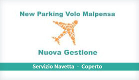 New Parking Volo Malpensa - Park & Ride - Covered - Milan Malpensa
