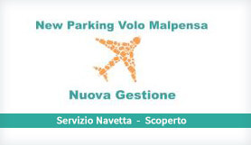 New Parking Volo Malpensa - Park & Ride - Uncovered - Milan Malpensa