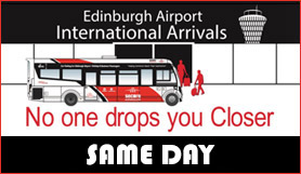 Edinburgh Secure Airparks - Park and Ride - Same Day