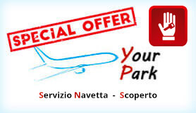 Your Parking - Park and Ride - Uncovered - Fiumicino