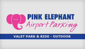 Pink Elephant - Valet Park and Ride - Outdoor