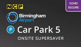 Birmingham Car Park 5 - Onsite - Supersaver