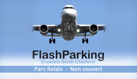 Flash Parking - Park & Ride - Niet Overdekt - Charleroi Airport