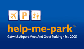 Gatwick - Help Me Park - Meet & Greet - Non Flexible