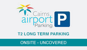 T2 Domestic Parking - Onsite - Uncovered - Cairns Airport