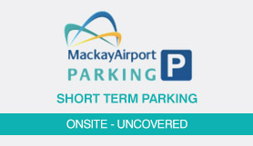 Short Term Parking - Onsite - Uncovered - Mackay Airport