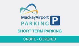 Short Term Parking - Onsite - Covered - Mackay Airport