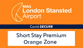 Stansted Official Short Stay - Premium - Orange Zone