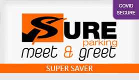 Gatwick - Sure Parking Meet and Greet - Non Flexible