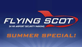 Edinburgh Flying Scot - Park and Ride - Self Park - Summer special