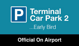 Luton - Terminal Car Park 2 (Multi Storey) Parking - Early Bird