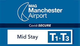 Manchester Airport - Mid Stay T1/T3