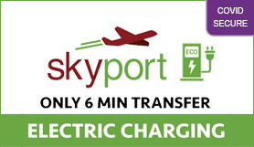 Glasgow SkyPort Park and Ride - Electric charging